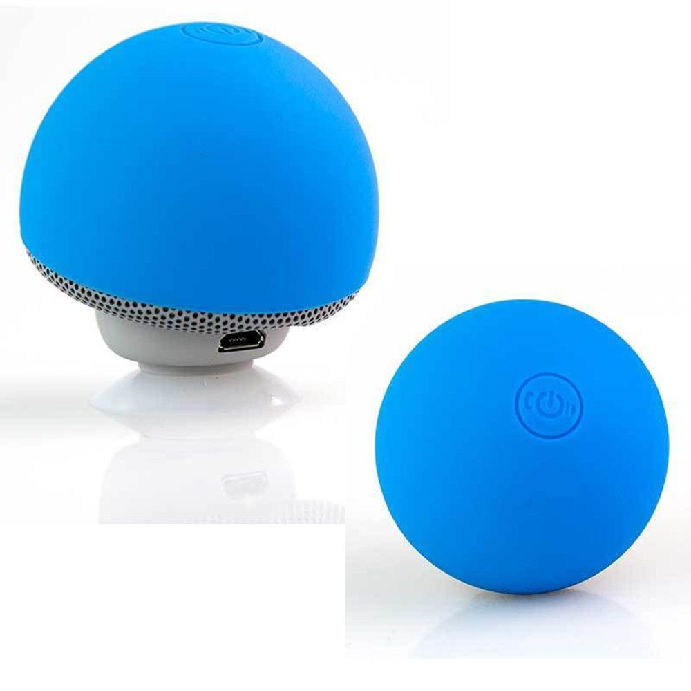 Cute Speakers Stylish 3.5mm Ball Mini Speaker Outdoor Portable Audio Dock For iPhone 6S Samsung Galaxy Note 3 PC MP3/MP4 Gift