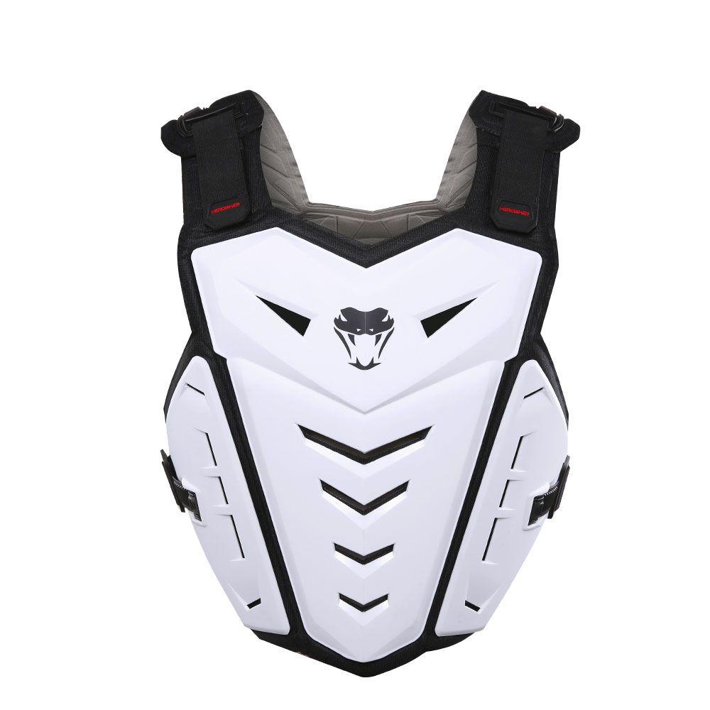 HEROBIKER Motocross Body Armor Motorcycle Armour Moto Motorbike Vest Off-Road Dirt Bike Armor Back Chest Protector,M-1007