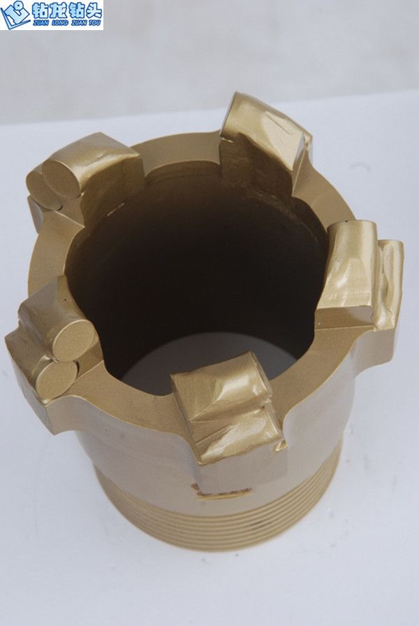 PDC Rib Band Core Bit With Steel Body, Rib Coring Bit For Pneumatic Rock Drill