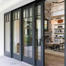 Woodgrain RAL7016 colour Security electric motorized garage door