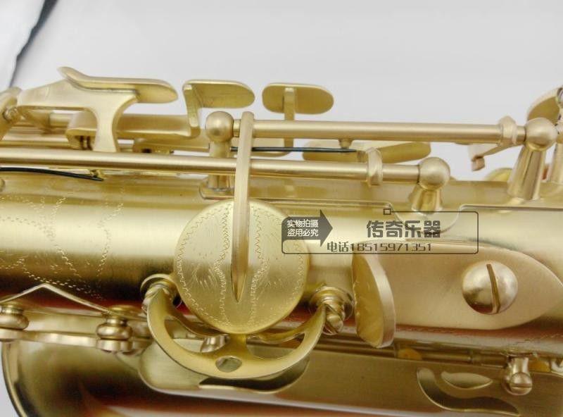 2027 High quality French selmer 54 E flat Alto professional-grade Antique Copper simulation instruments saxophone Metal Mouthpiece