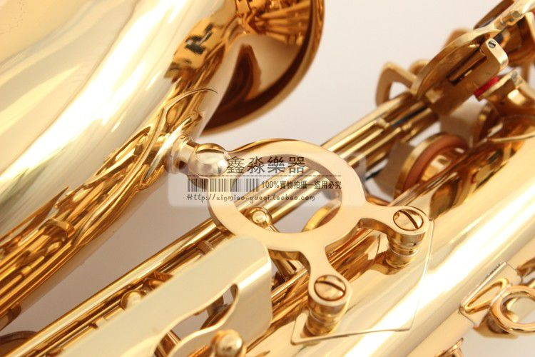 2017 New free shipping France Henri selmer saxophone alto profissional Reference 54 electrophoresis gold Abalone buckle