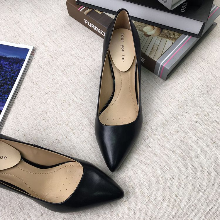 Genuine Leather Women Sexy Pumps Lady New Fashion Peep Toe Single Summer Shoes