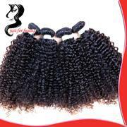 Grade 6A Virgin Hair 1B Brazilian Kinky Curly Virgin Hair Cheap Human Hair Weave Unprocessed Virgin Brazilian Curly Hair 3pcs Lot