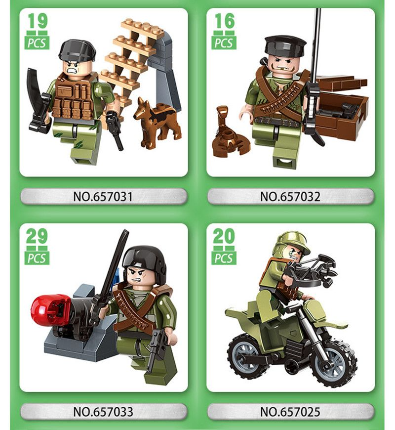 Brave Soldiers Building Block Puzzle Minifig Super heros Toys Captain America Cars Fair Tank guns weapon police Master Shield Figure Toys