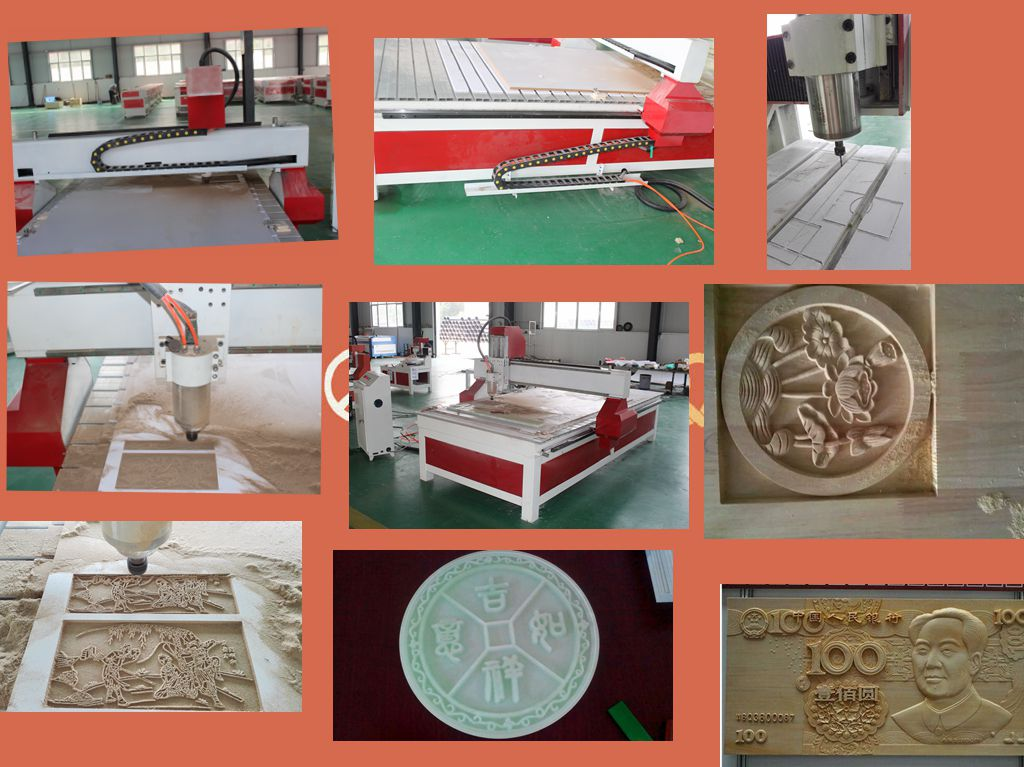 1325 3kw Servo drive motor automatic 3d furniture sculpture wood cnc router machine China factory