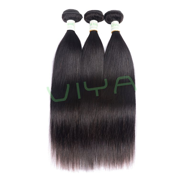 VIYA 8A Hair Products Human Hair Unprocessed Brazilian Straight Virgin Hair Frontal Lace Closure 360 Wig WY0914B