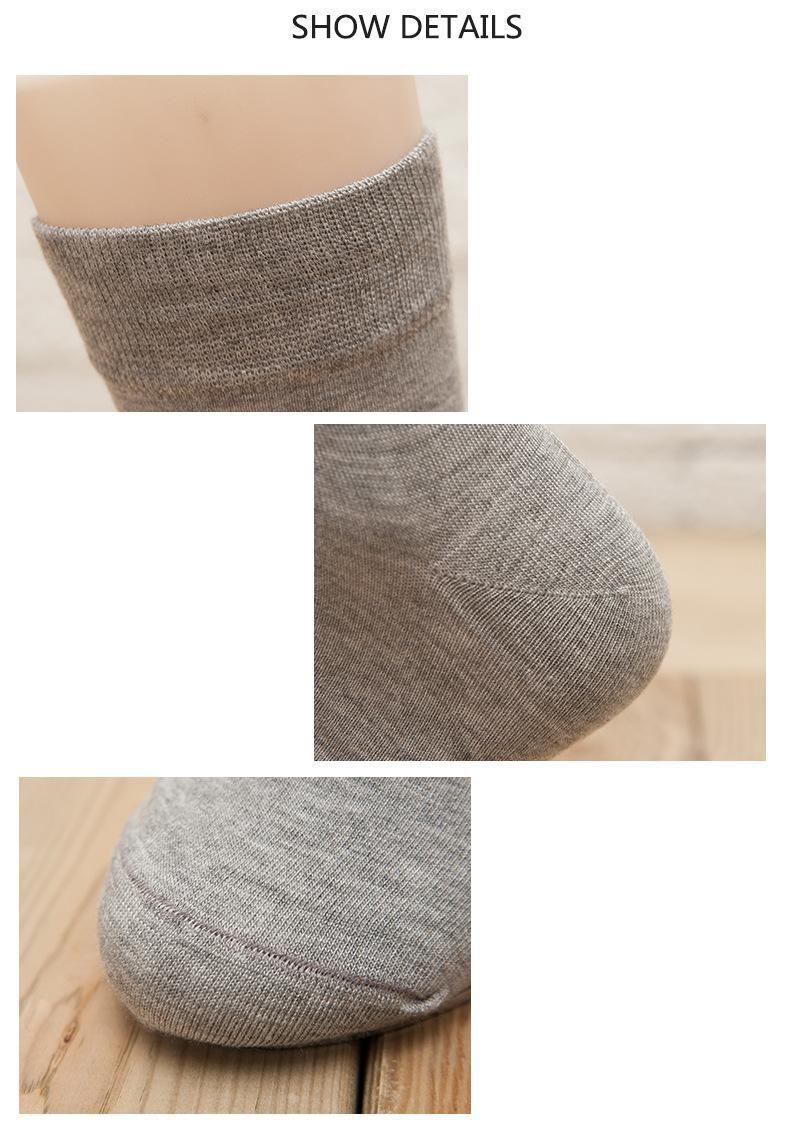 pring/Autumn Men Bamboo Socks Male Colorful Dress Business Socks Men Comfortable Anti-Bacterial Man Socks