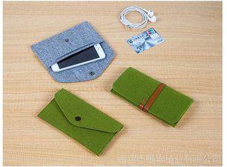 Synthetic fibre wallet
