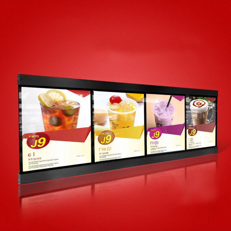 Smart Expo Fast-food Restaurant Led Menu Board Display