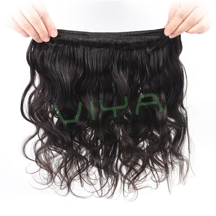 VIYA Brazilian Hair Weave Body Wave UNPROCESSED Virgin Hair Wefts Cheap Wholesale Human Hair Extensions WY920D