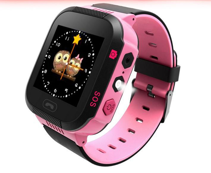 Baby GPS Watch Positioning 1.54 Inch Color Touch Screen SOS Tracker Safe Anti-Lost Kids Monitor Watch