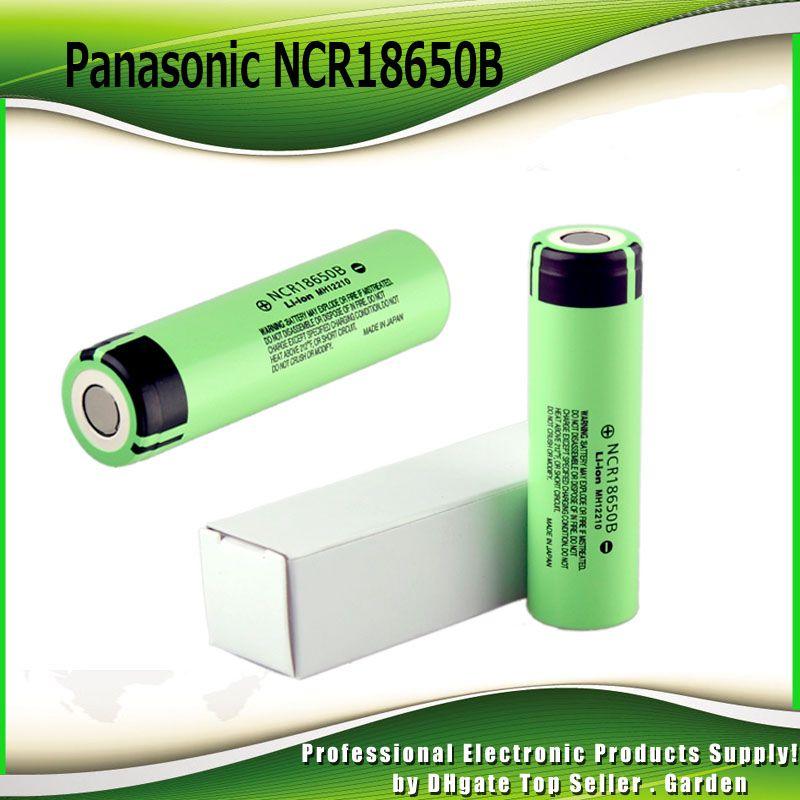 Original Panasonic NCR18650B 3.7V 3400mAh battery high capacity rechargeable NCR 18650B vs Authentic Samsung INR18650 25R