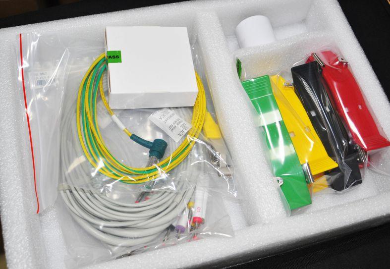 Digital Single channel Electrocardiograph ECG Machine EKG Machine