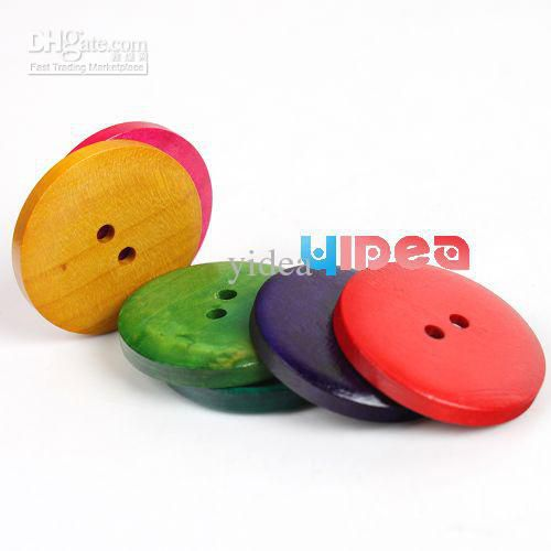 800 Hot Sale Mixed Colorful Wooden Buttons Fit Clothes Accessories Have in Stock 111319