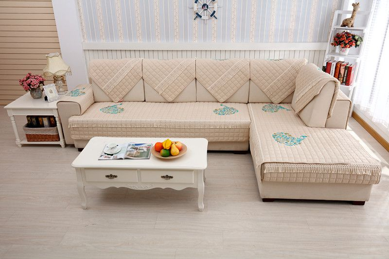 2018 hot sale 100%cotton simply fashion combination four seasons of sofa cushion set