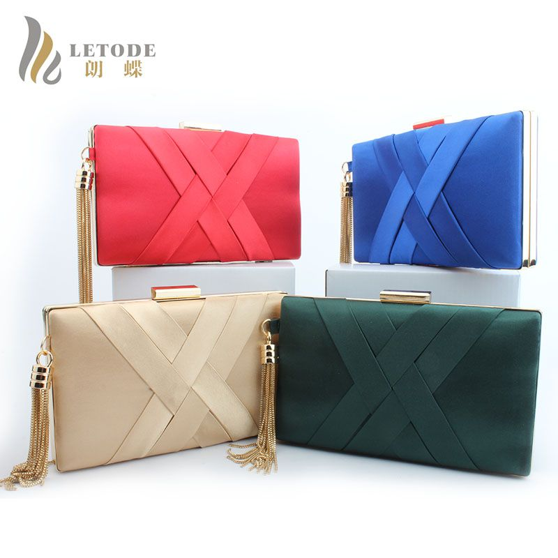 03c220b67b HOT SALE!2018 Evening Clutch Bags Cotton Fabric Evening Bag With Chain  Shoulder Bag Women s