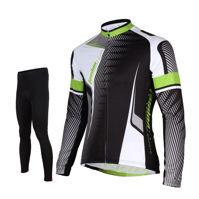 d3ef5518f Tasdan Professional Cycling Jersey Suits Long Sleeve Cycling Top Full Short  Jersey Cy.