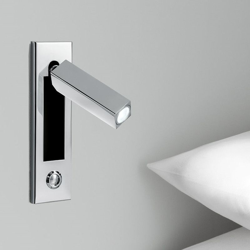 Recessed Foldable Swivel Wall Lights with Touch Dimmer Switch Head ...