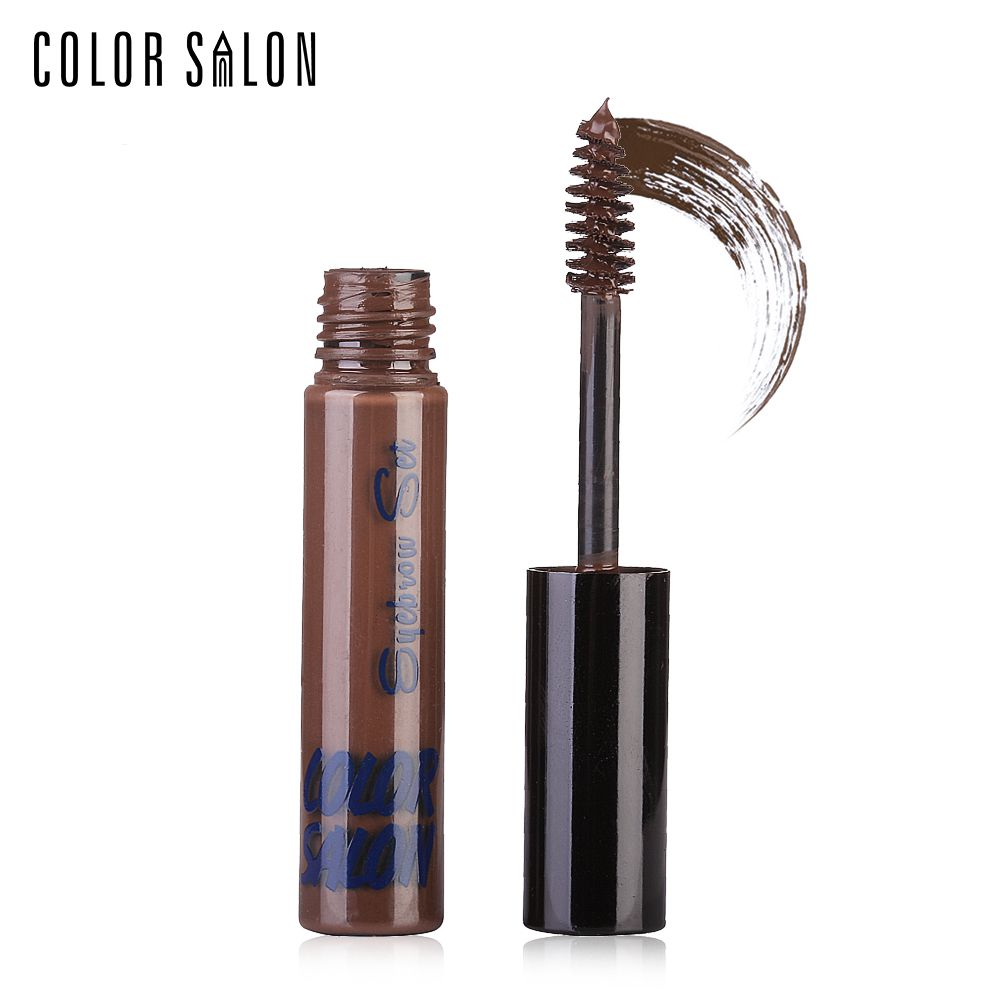 Color Salon Waterproof Eyebrow Tint Enhancer Cream Brown Henna Eye Brow Gel Long Lasting Pomade Eye Makeup Wax Cosmetic 7g