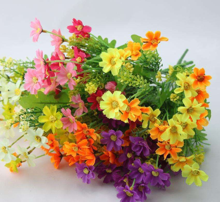 Plastic artificial flowers New product Customizable