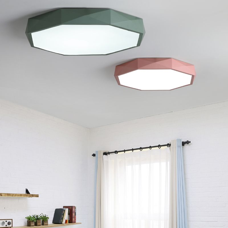 LM654 LED Ceiling Lamp Modern Style Living Room Bedroom Dining One With Three Color