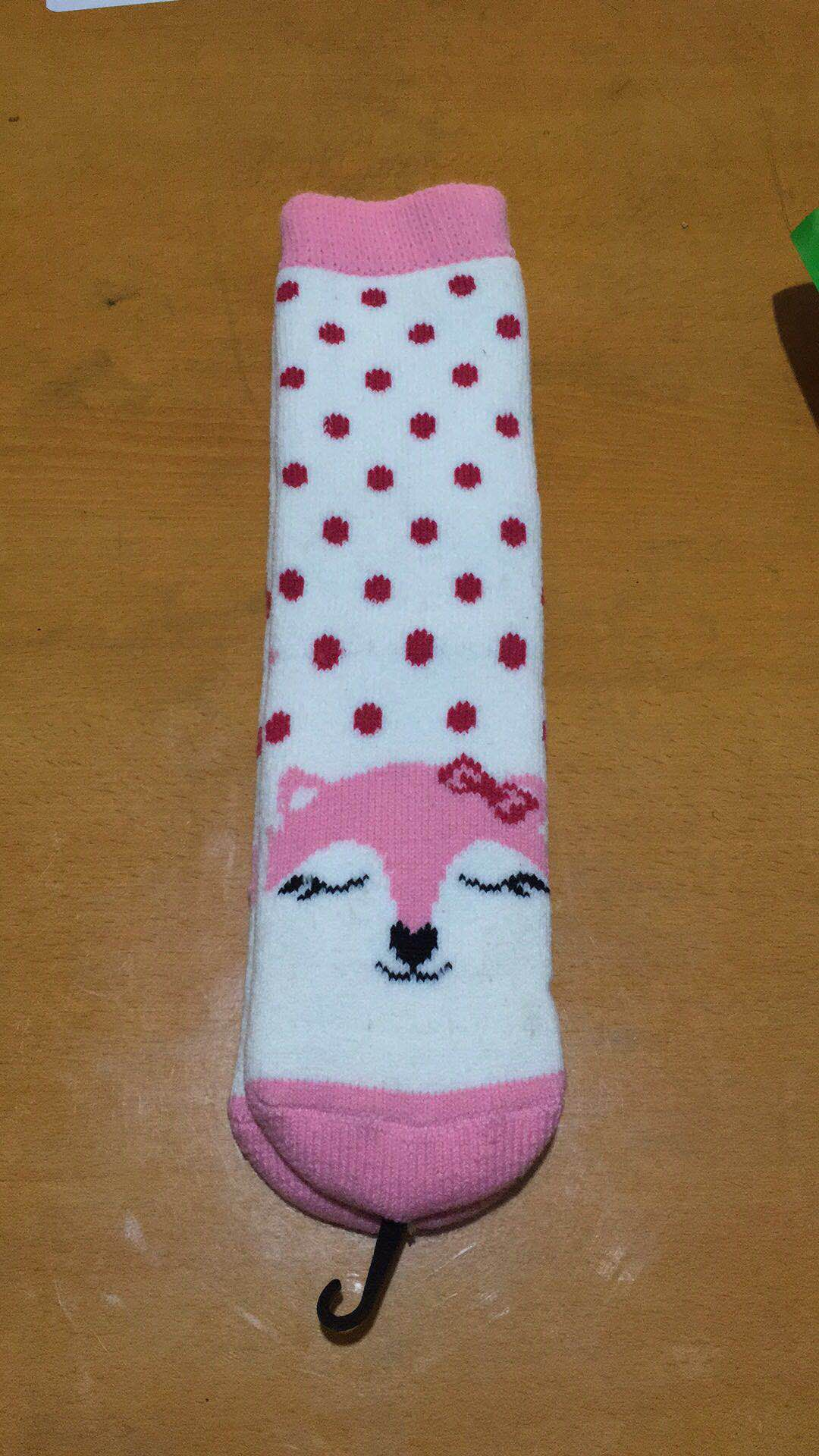 Autumn and winter stockings polyester cotton socks female Korean version of the cartoon socks