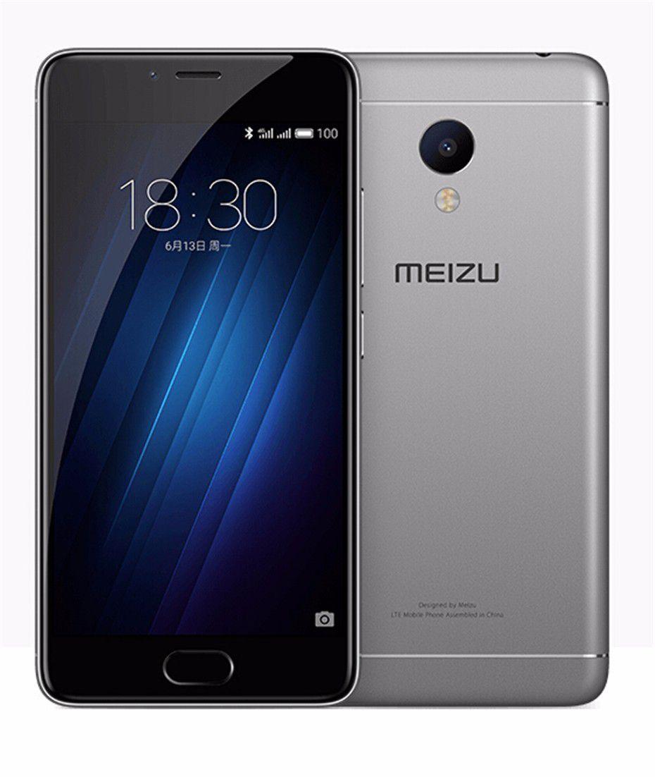 "Meizu M3S Mini 5.0"" MTK6750 Octa Core 2G RAM 16G ROM Metal Body 13MP Camera Fingerprint Cell Phone"