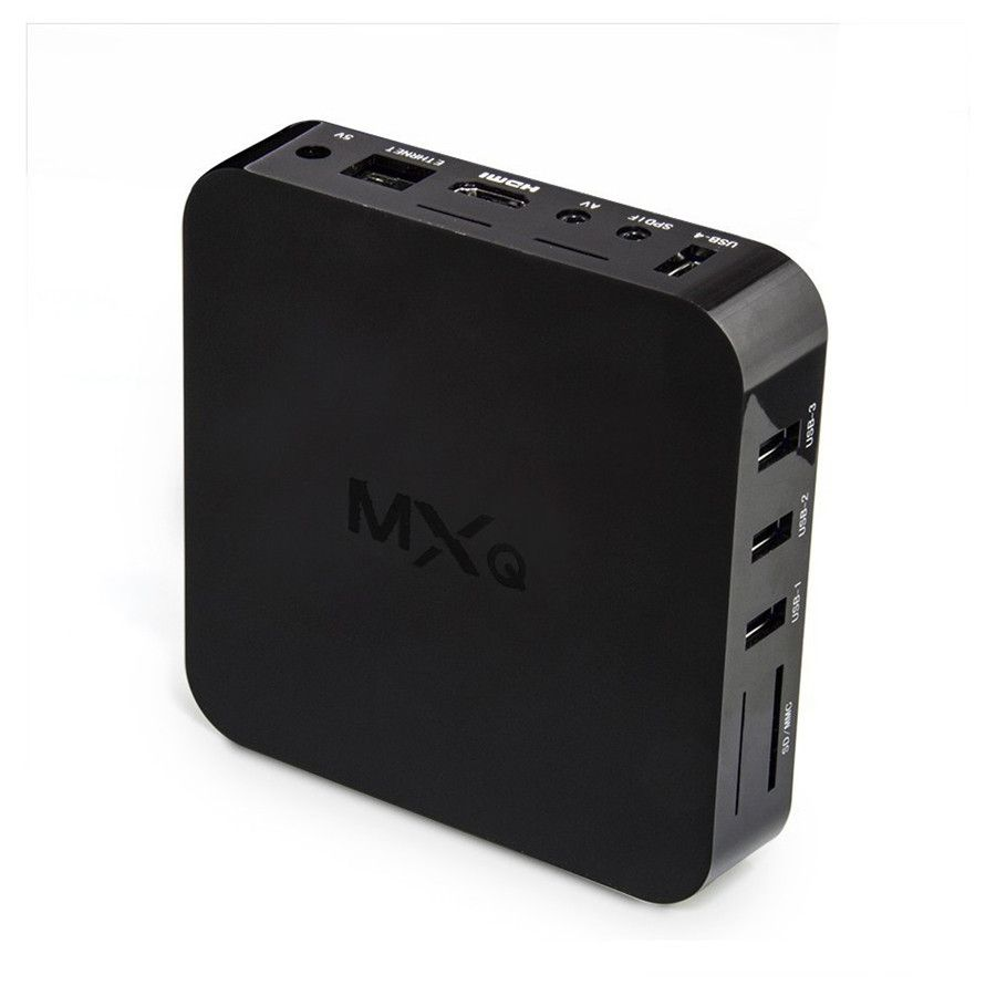 10pcs MEMOBOX MXQ Android TV Box Quad Core 32Bit Amlogic S805 MXQ Media Player With XBMC KODI15.2 skylive Fully Load Update Smart TV Box