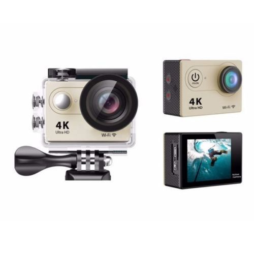 "Wide-Angle Fish-Eye Lens 16MP 4K 30fps 2.0"" LCD Wifi Sport Action Camera Diving 30M Waterproof Helmet Cam WIFI Sport DV"