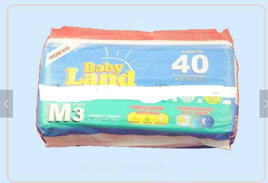 baby diapers in quanzhou union paper in China