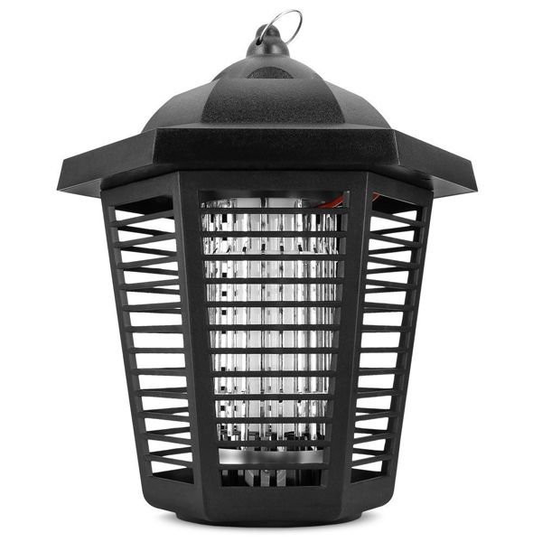 Electric Bug Zapper with 1076 Square Foot Coverage, Mosquito killer with Powerful UV Lamp for resident bedroom restaurant warehouse Use
