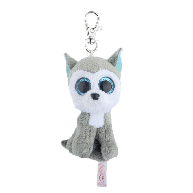 aa5b600709d ... TY Keychain 4inch 10CM Stuffed Animals Plush Toy White Unicorn Ty  Beanie Boos Marcel TWIGGY Pink