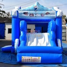 inflatable slide with jumping castle ,inflatable combo from zzpl factory,amazing inflatable combo fun house