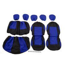 Auto Seat Covers 9pcs Detachable Washable Knitted Auto Seat Covers Universal Protective Covers