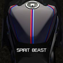 Spirit Beast motorcycle modified pvc reflective stickers waterproof cool styling four color optional L2