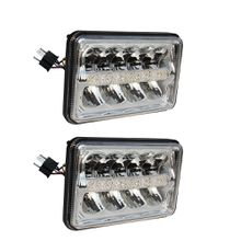 4 x 6'' Led Sealed Beam Headlight High/Low Beam with Parking DRL for Ford Daf/Foden/FREIGHTLINER/GMC