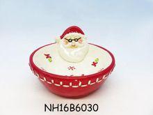 Christmas decorations Candy Bowl ceramic craft Eco-Friendly