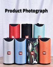 Bluetooth Speaker Portable Outdoor Loudspeaker Wireless Mini Column 3D 10W Stereo Music Surround Support FM TF Card Bass Box