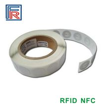 NTAG203/213 sticker compatible with all NFC android phone 13.56MHz ISO14443A RFID NFC Tag