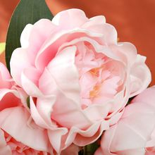 Artificial Real Touch Peony Flowers with Bud for Wedding Hotel Prom and Home Decoration