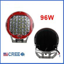 9INCH CREE LED WORK LIGHT 96W DC 12V/24V SPOT FLOOD FOG LAMP 4x4 OFFROAD UTV 4WD ATV SUV TRUCK BOAT DRIVING LIGHTS