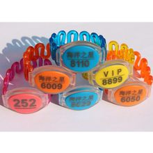 125khz RFID EM chip waterproof wristband proximity bracelet