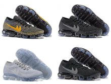 2018 Newest Drop Shipping Famous Air Cushion VaporMaxs Mens Sports Athletic Running Shoes Sports Shoes Sneaker Trainers shoes Size 40-46