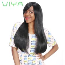 VIYA Mongolian Virgin Human Hair Straight Hair Extension Unprocessed Human Hair 3 Bundles Free Shipping 10-30 Inch WY831H