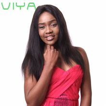 VIYA Unprocessed Virgin Brazilian Straight Human Hair Weave Extensions 3 Bundles Set WY831D