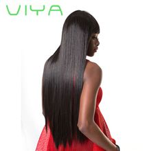 VIYA Brazilian Virgin Hair Straight Hair 3 Bundles Deal Unprocessed Straight Human Hair Weave Weft Natural Color Can be Dyed WY905D