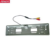 Factory Price! EU Russia Car License Plate Frame Rear View Camera For European Cars With 16 LED