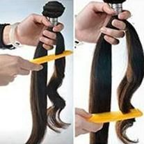 Closure 8-20inch Straight Closure Natural Color With Bleached Knot
