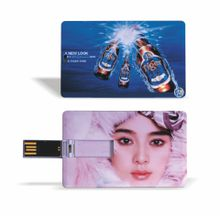 Promotional Gifts Full Color Logo Printing Business Card USB Flash Drive,Credit Card USB Stick